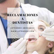 Abogados para reclamar a dentista
