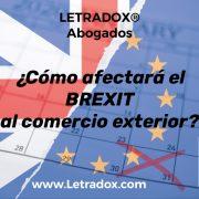 Brexit. Comercio exterior. Abogados